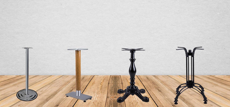 Alüminyum Döküm Masa Ayakları